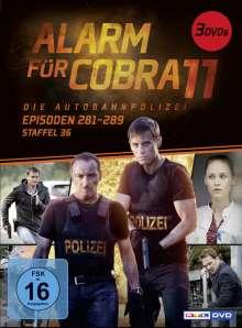 Alarm für Cobra 11 Staffel 36, 3 DVDs