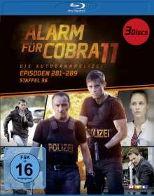 Alarm für Cobra 11 Staffel 36 (Blu-ray), 3 Blu-ray Discs