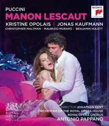 Giacomo Puccini (1858-1924): Manon Lescaut, Blu-ray Disc