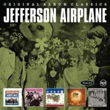 Jefferson Airplane: Original Album Classics, 5 CDs