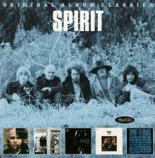 Spirit: Original Album Classics, 5 CDs