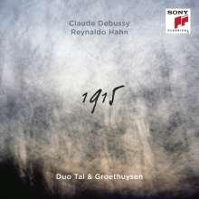 Claude Debussy (1862-1918): Klavierwerke zu vier Händen, CD