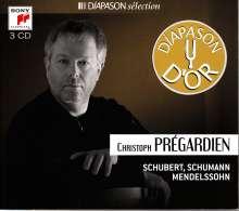 Christoph Pregardien - Schubert / Schumann / Mendelssohn, 3 CDs