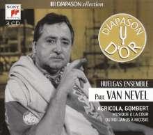 Huelgas Ensemble & Paul van Nevel, 3 CDs