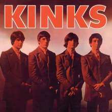 The Kinks: The Kinks (remastered) (180g) (Limited Edition) (Red Vinyl) (mono), LP