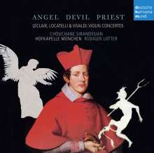 Angel, Devil, Priest - Violinkonzerte von Leclair, Locatelli, Vivaldi, CD