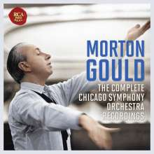 Morton Gould - The Chicago Symphony Recordings, 6 CDs