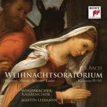 Johann Sebastian Bach (1685-1750): Weihnachtsoratorium BWV 248 (Kantaten 4-6), CD
