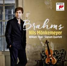 Nils Mönkemeyer - Brahms, CD