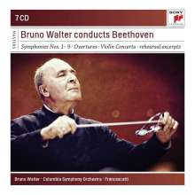 Ludwig van Beethoven (1770-1827): Bruno Walter conducts Beethoven, 7 CDs