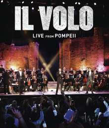 Il Volo: Live From Pompeii, DVD