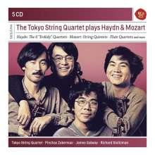 Tokyo String Quartet - Haydn & Mozart, 5 CDs