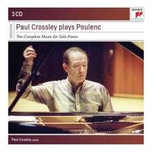 Francis Poulenc (1899-1963): Klavierwerke, 3 CDs