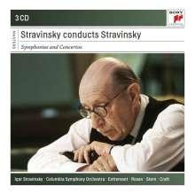 Igor Strawinsky (1882-1971): Igor Strawinsky dirigiert Strawinsky, 3 CDs