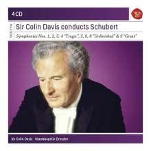 Franz Schubert (1797-1828): Symphonien Nr.1-9, 4 CDs