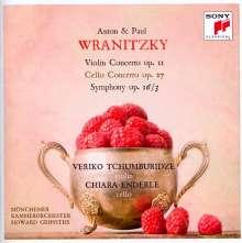 Paul Wranitzky (1756-1808): Symphonie Nr.24 D-Dur op.16 Nr.3, CD