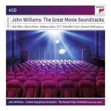 John Williams (geb. 1932): The Great Movie Soundtracks, 4 CDs