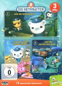Die Oktonauten (3er-Box), 3 DVDs