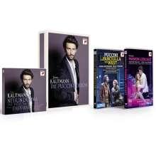 Jonas Kaufmann – Nessun Dorma, the Puccini Edition, 4 CDs