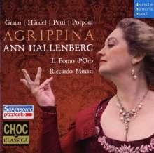 Ann Hallenberg - Agrippina, CD