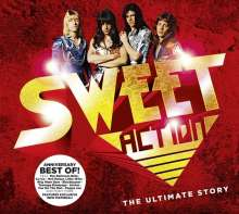 The Sweet: Action! The Ultimate Sweet Story (Digipack Deluxe Edition), 2 CDs