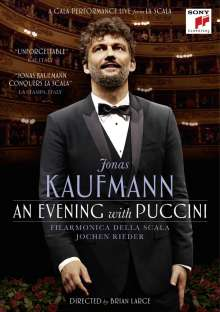 Jonas Kaufmann – An Evening with Puccini (Ein Konzert in der Mailänder Scala), DVD