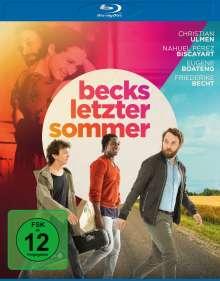 Becks letzter Sommer (Blu-ray), Blu-ray Disc