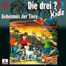 Die drei ??? Kids (Folge 53) - Geheimnis der Tiere, CD