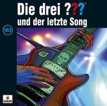 Die drei ??? (Folge 183) - und der letzte Song, CD