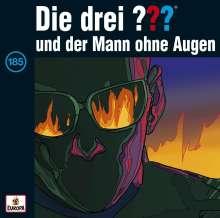 Die drei ??? (Folge 185) - und der Mann ohne Augen, CD