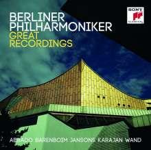 Berliner Philharmoniker - Great Recordings, 8 CDs