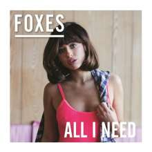 Foxes: All I Need, CD