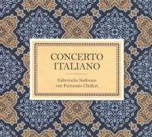 Fortunato Chelleri (1690-1757): Simphonies Nouvelles Nr.1-6, CD