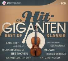 Die Hit-Giganten - Best of Klassik, 3 CDs