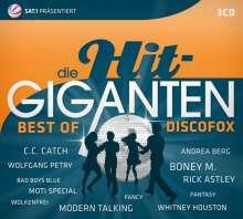 Die Hit Giganten: Best Of Discofox, 3 CDs