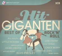 Die Hit Giganten - Best Of Rock'n'Roll, 3 CDs