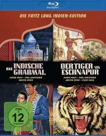 Die Fritz Lang Indien-Edition: Das indische Grabmal / Der Tiger von Eschnapur (Blu-ray), 2 Blu-ray Discs
