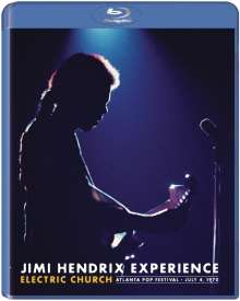 Jimi Hendrix: Electric Church - Atlanta Pop Festival, 4.7.1970, Blu-ray Disc