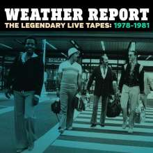 Weather Report: The Legendary Live Tapes: 1978 - 1981, 4 CDs