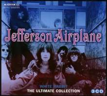 Jefferson Airplane: White Rabbit: The Ultimate Collection, 3 CDs