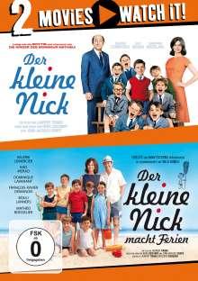 Der kleine Nick / Der kleine Nick macht Ferien, 2 DVDs