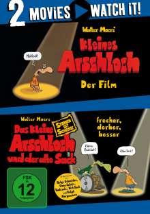 Das kleine Arschloch / Das kleine Arschloch und der alte Sack, 2 DVDs