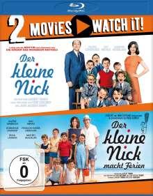 Der kleine Nick / Der kleine Nick macht Ferien (Blu-ray), 2 Blu-ray Discs