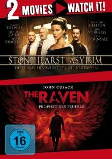 Stonehearst Asylum / The Raven, 2 DVDs