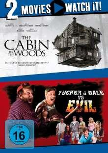 The Cabin in the Woods / Tucker & Dale vs. Evil, 2 DVDs