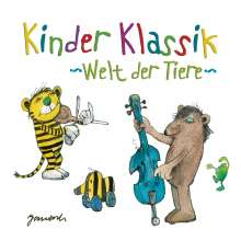 Kinder Klassik - Welt der Tiere, 2 CDs