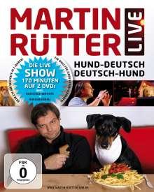Martin Rütter: Hund-Deutsch / Deutsch-Hund (Live), 2 DVDs
