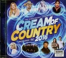 Cream Of Country 2016, 1 CD und 1 DVD