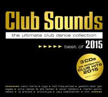 Club Sounds - Best Of 2015, 3 CDs