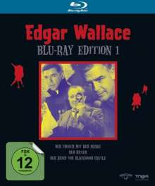 Edgar Wallace Edition 1 (Blu-ray), 3 Blu-ray Discs